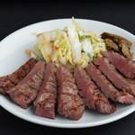 たんとと和くら - 料理写真:ボリューム満点★牛たんの炭火焼