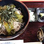 そば処 そば福 - 料理写真:くろんぼそば(大盛)\970(17-07)