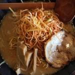 麺処たちばな - 辛ねぎ味噌らーめん(880円)★★★★☆