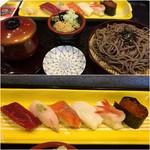70297277 - 寿司そばセット1,300円