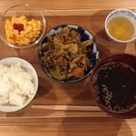 ぷろぼの食堂 - 回鍋肉