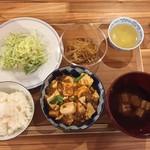 ぷろぼの食堂 - 麻婆豆腐