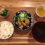 ぷろぼの食堂 - 油淋鶏