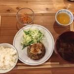 ぷろぼの食堂 - 和風ハンバーグ