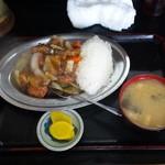キッチンあべ - 酢豚ランチ