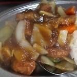 キッチンあべ - 酢豚(アップ)