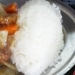 キッチンあべ - ご飯(アップ)