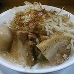 笑福〇わ - 【塩ラーメン + 半熟味玉子】¥830 + ¥100