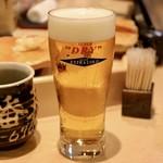 札幌シーフーズ - 生「エクストラコールド」¥600