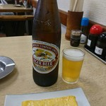 すゑひろ - 瓶ビールと玉子焼き‼
