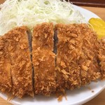 とんかつ 山家 - ロースカツ(大)