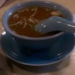 70301557 - 魚介豚骨スープ… うーん、好きな人多そう。