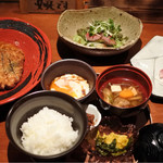 海藤花 - 肉のランチ1000円