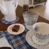 カフェ 燦太 - 料理写真:紅茶と水ようかん