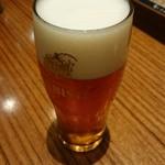 ヱビスビール記念館 - ガイドツアーの琥珀エビス。