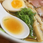 麺屋 169 - スープ