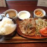 カフェ フォレスタ - 豚のしょうが焼き定食