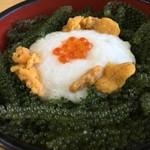 元祖 海ぶどう - 海ぶどう丼  1,300円