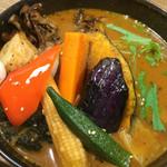 スープカレーGARAKU - やさい15品目 大地の恵