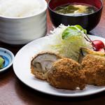 きんとん - 肉汁溢れる芳寿豚ミンチの野菜包み御膳