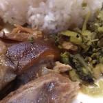 ヴィエンタイ - ・プルップルゼラチンと肉と高菜
