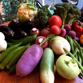 旬、季節感、鮮度を大事にし、厳選した食材