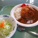 オホーツク総合振興局 食堂 - 料理写真:カツカレー、550円