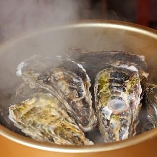 三陸産の新鮮な牡蠣を毎日産地直送