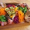 ラターブルドゥシュエット - 料理写真:前菜の盛合せ(その日の前菜約7種類)