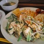 あやふふぁみ - 島豆腐チャンプルー定食