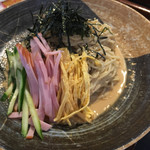 味華 - 冷麺:ゴマだれ