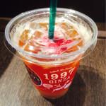 タリーズコーヒー - ピーチティー&フランボワーズ Tall480円
