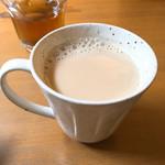 70315724 - ホット黒糖豆乳