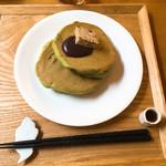 70315729 - 抹茶ホットケーキ