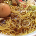 一条流がんこラーメン 総本家 - 麺