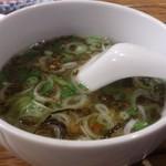 アジアン タイペイ  - ・たぶんガパオについてきたスープ