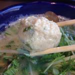 九十九里 麺ドラゴン - ツミレ