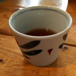 錨屋 - 冷たい麦茶