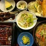 ダイ平 - 料理写真:鰻重御膳