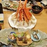 足和田ホテル - 料理写真:ズワイガニ食べ放題のプラン。