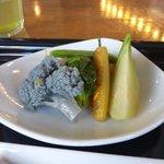 レストラン サティスファクション - 野菜の焚き合わせ