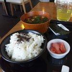 レストラン サティスファクション - ご飯・味噌汁