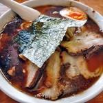 麺屋 陣丸 - 節醤油極め(大盛り)
