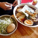 麺屋 陣丸 - 醤油極め(大盛り)