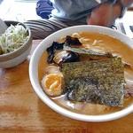麺屋 陣丸 - 鶏塩極め(大盛り)