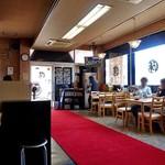 麺屋 陣丸 - テーブル席