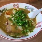 シナカン - カレーラーメン(トッピングたまご)