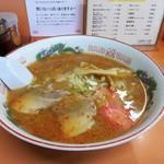 北京亭 - 辛みラーメン味噌750円