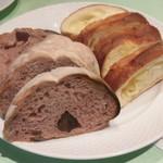 リストランテ エヌ イーゾラ - 自家製パン