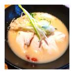 金嶋 - 濃厚で 鶏そば 2